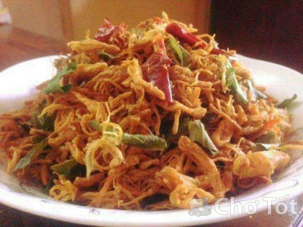 Gà khô lá chanh | Đặc sản Đà Nẵng làm quà